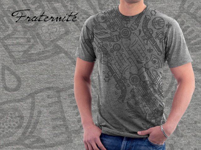 Не самые крутые футболки, зато прикольный арт по Assassin's Creed - Изображение 15