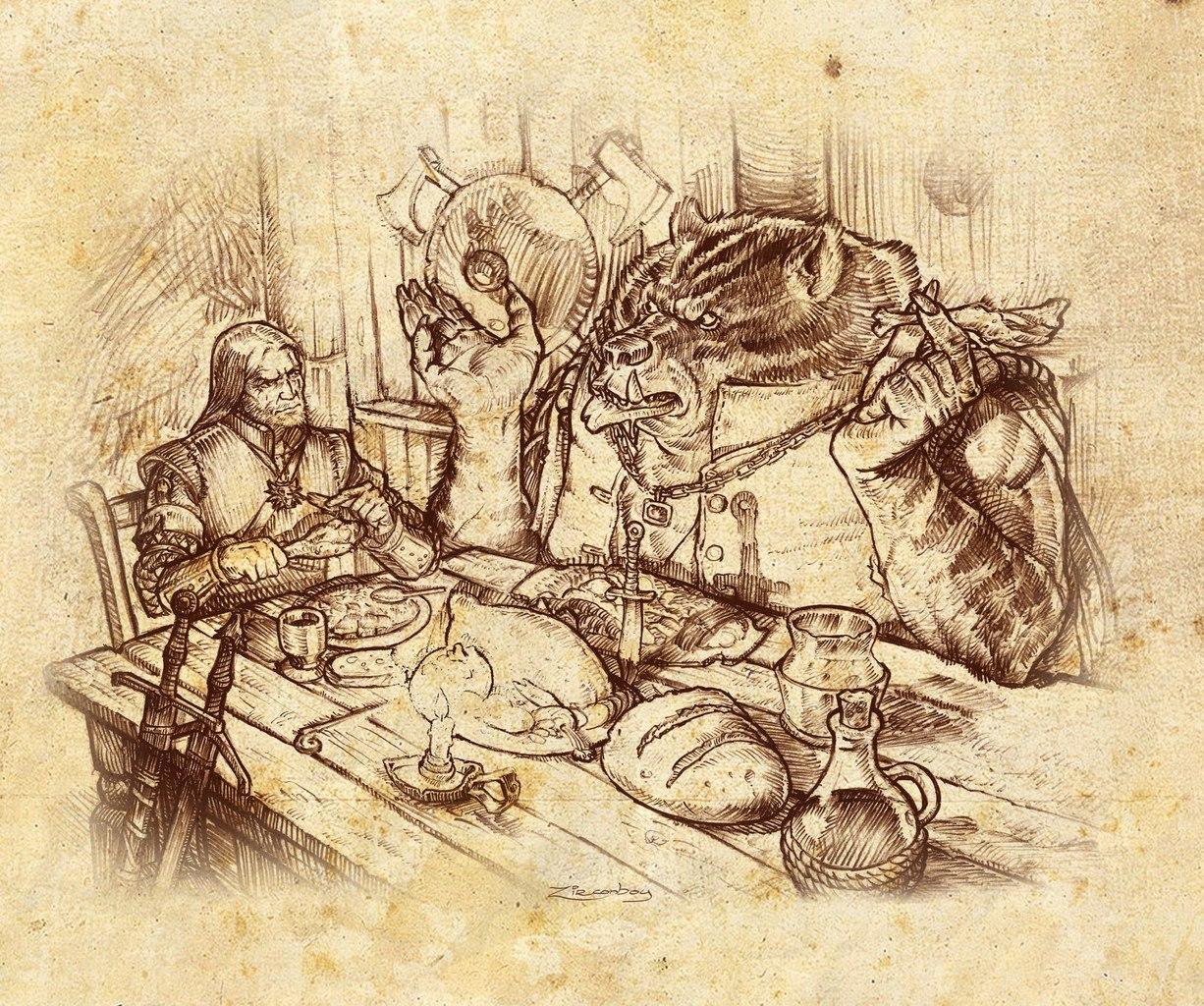 Оригинальные/интересные арты по Ведьмаку. - Изображение 18