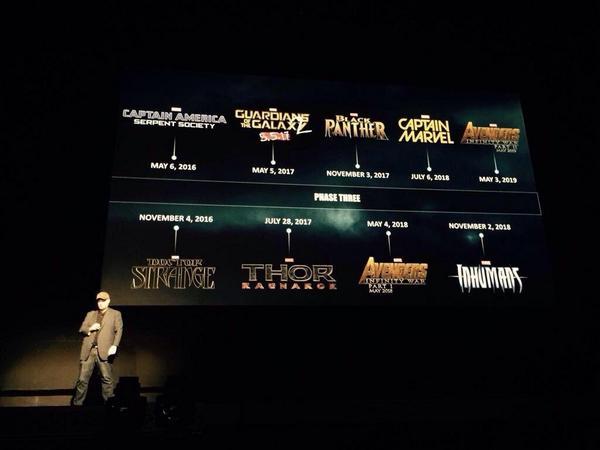 Marvel разошлись и анонсировали целую кучу новых фильмов:. - Изображение 1