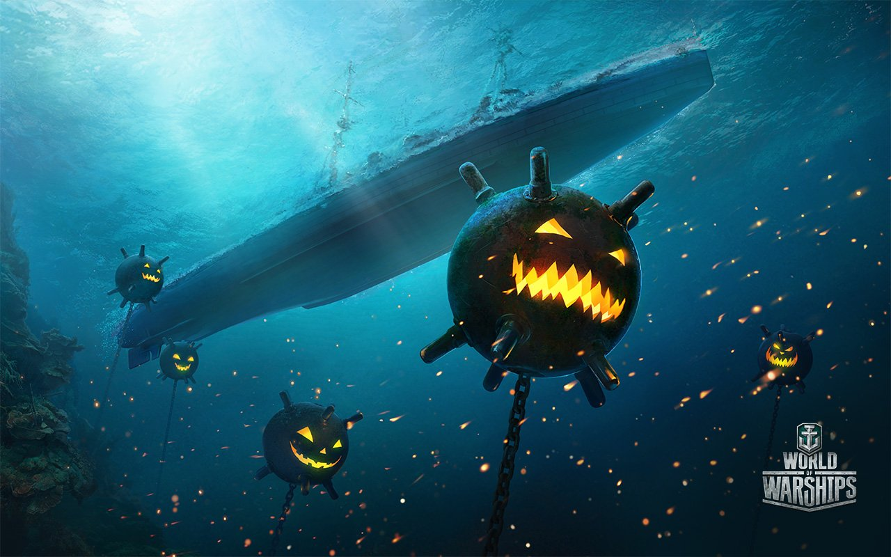 Хеллоуин в морском стиле - Изображение 1