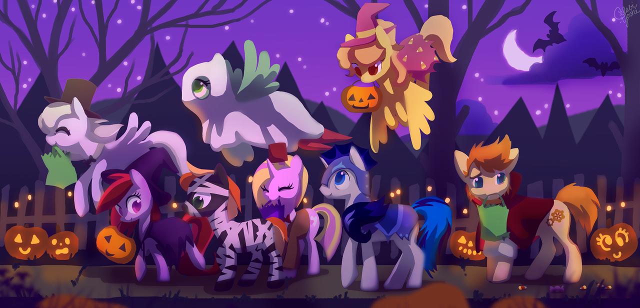 Поняшный Хэллоуин - Изображение 1