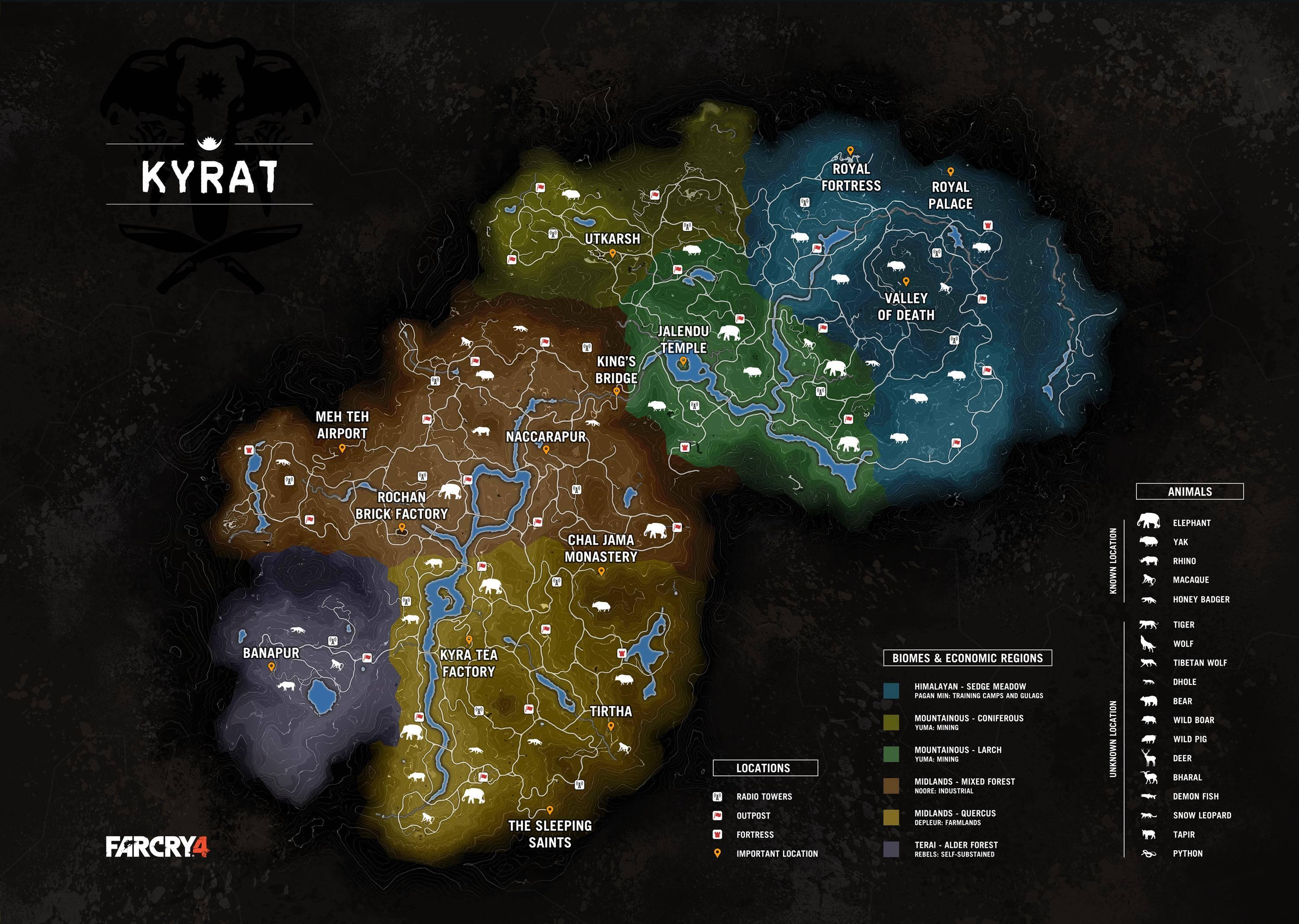 Карту Far Cry 4 слили за неделю до релиза. - Изображение 1