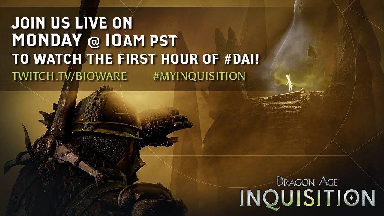 Dragon Age: Инквизиция Сегодня в 21.00 мск будет очередная прямая трансляция игрового процесса  - Изображение 1