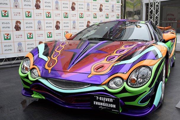 В Токио показали аниме-спорткар - Изображение 1