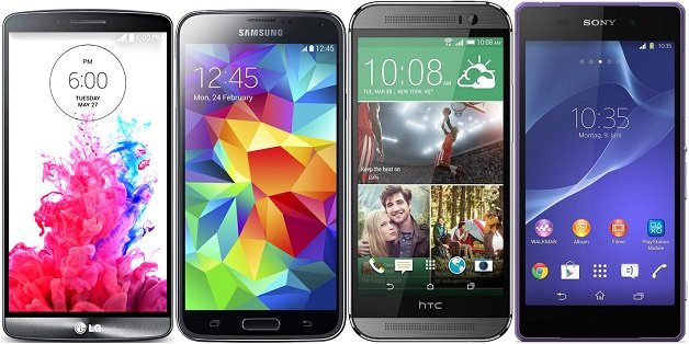 Sony Xperia Z2, Sony Xperia Z3, HTC One (M8), Samsung Galaxy S5 и LG G3 в борьбе за звание чемпиона - Изображение 1