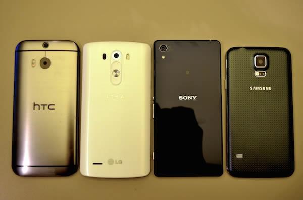 Sony Xperia Z2, Sony Xperia Z3, HTC One (M8), Samsung Galaxy S5 и LG G3 в борьбе за звание чемпиона - Изображение 15