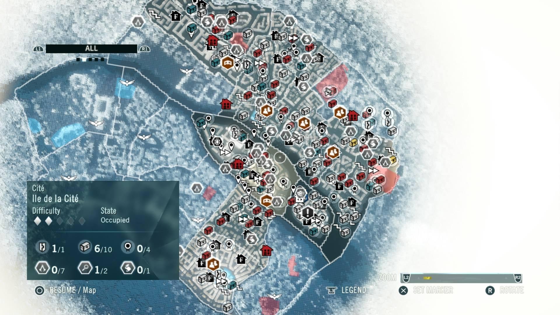Глаза разбежались от Assassin's Creed: Unity - Изображение 1