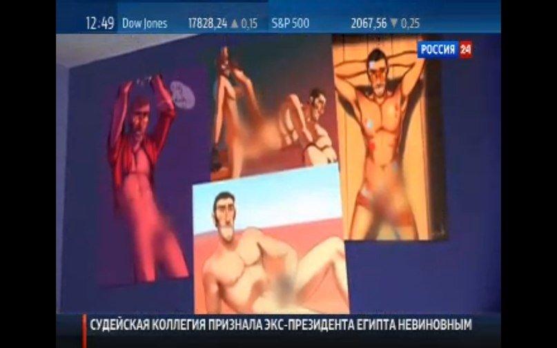 В субботнем эфире телеканала Россия 24 снова засветился персонаж из игры Team Fortress 2 - Изображение 1