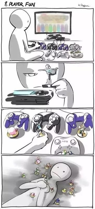 Только сейчас понял, какой же перебор у Wii U с контроллерами...   - Изображение 1