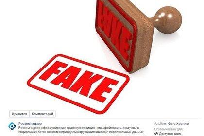 Роскомнадзор посчитал фейковые аккаунты в соцсетях нарушением закона - Изображение 1