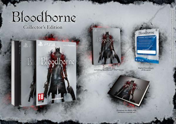 Bloodborne обзавелась коллекционными изданиями. - Изображение 1