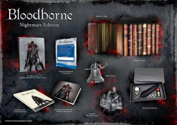 Bloodborne обзавелась коллекционными изданиями. - Изображение 2