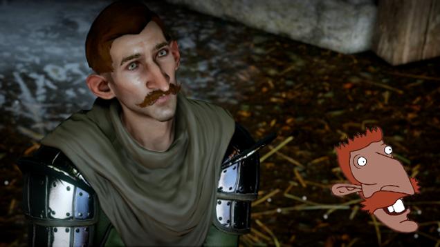Кто-то сделал Найджила Торнберри в Dragon Age - Изображение 1