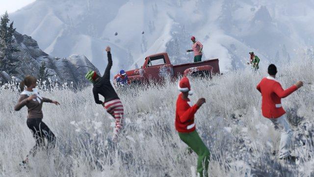 Рождественский сюрприз от Rockstar в GTA Online - Изображение 5
