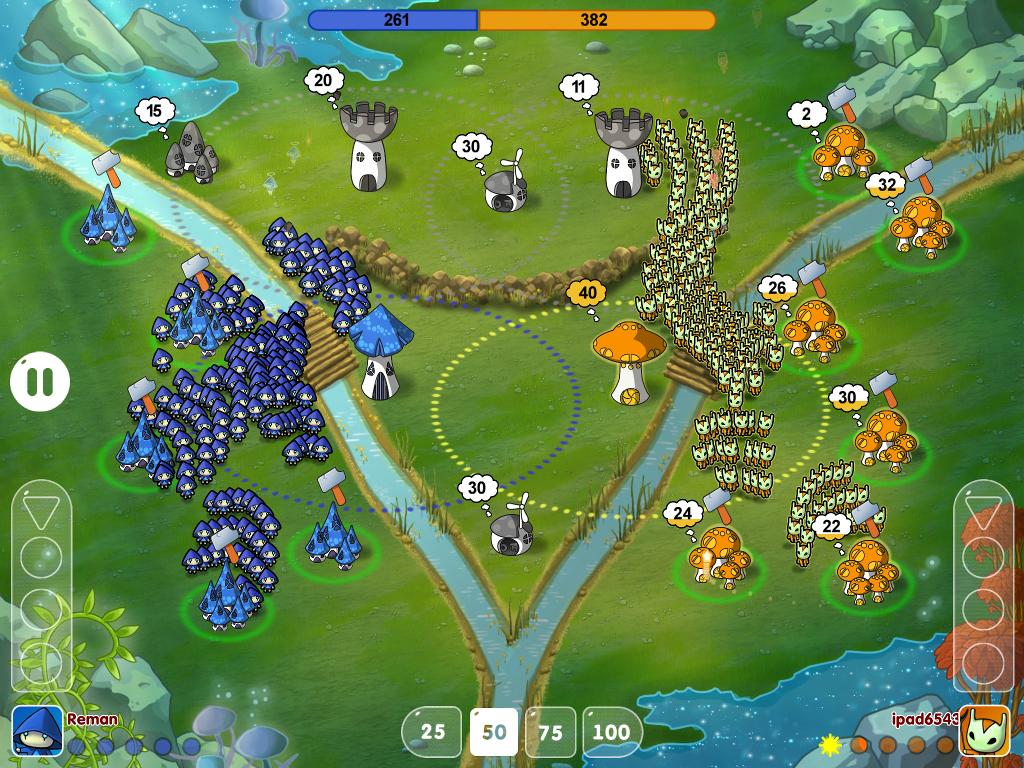 Станет ли сиквел Mushroom Wars одним из пионеров киберспортивных мобильных игр? - Изображение 2