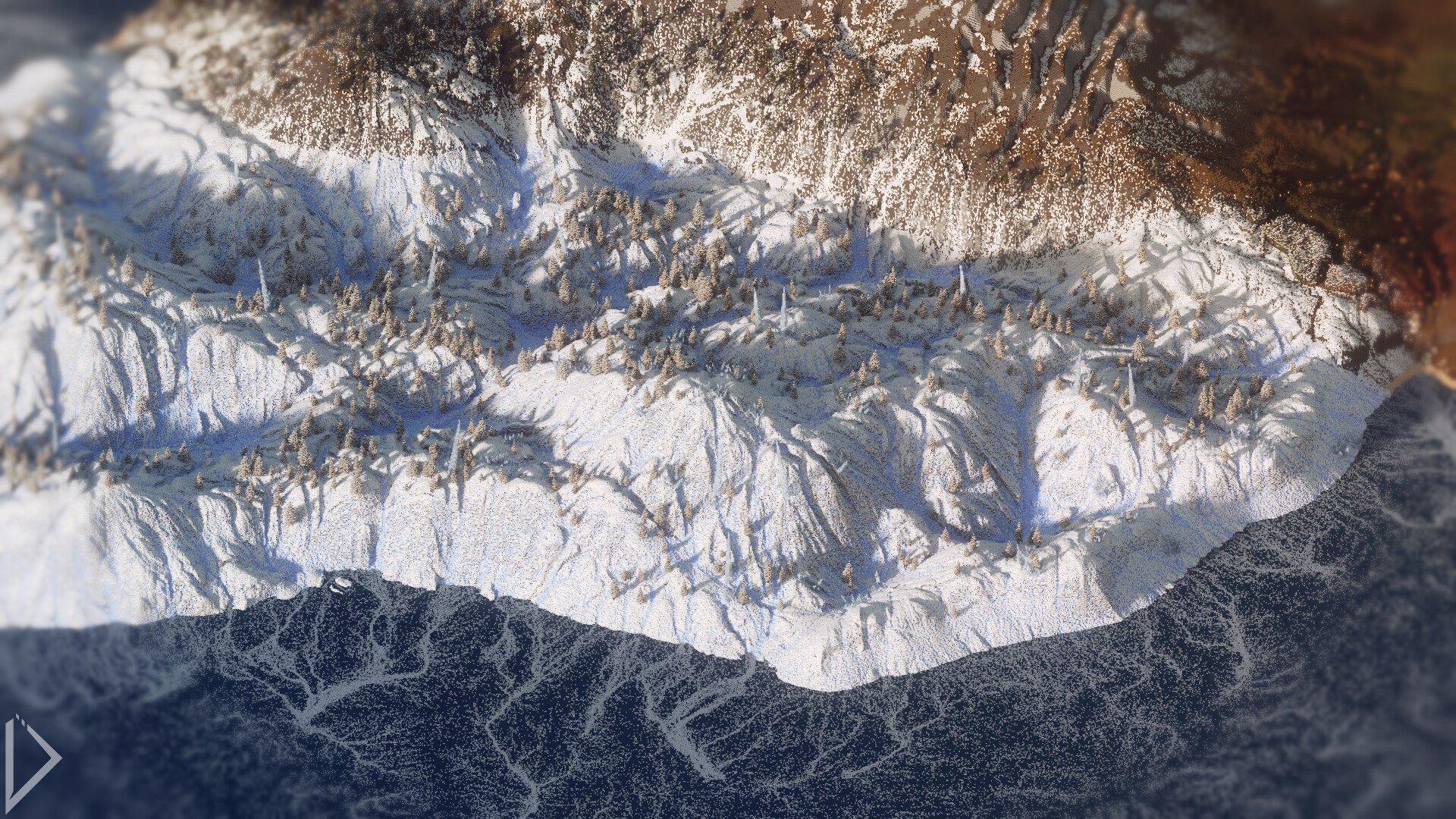 Невероятно детализованная карта в Minecraft - Изображение 3