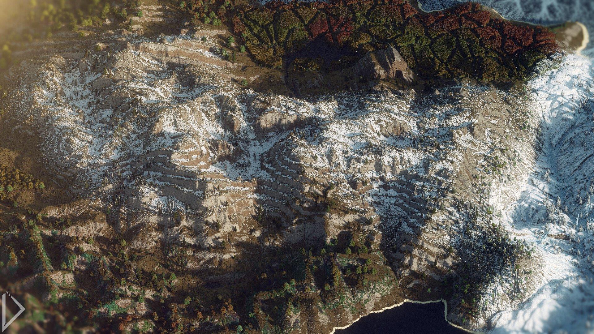 Невероятно детализованная карта в Minecraft - Изображение 2
