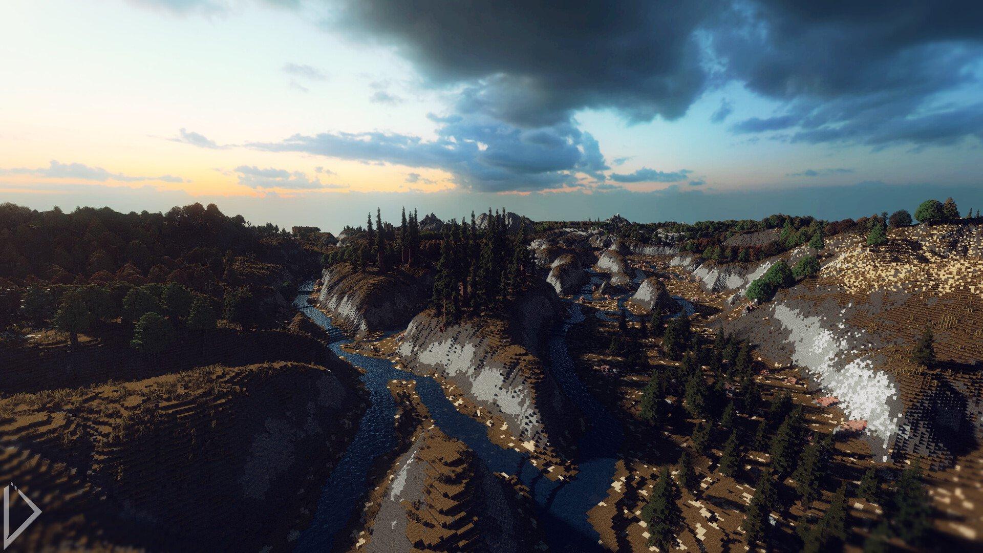 Невероятно детализованная карта в Minecraft - Изображение 1