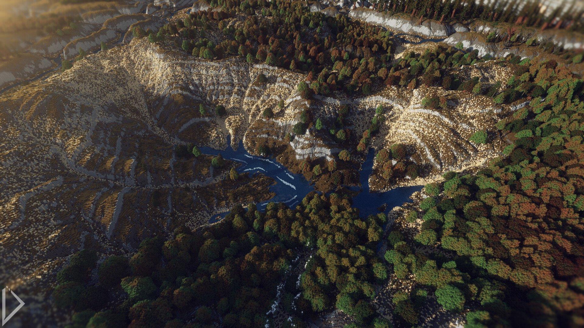 Невероятно детализованная карта в Minecraft. - Изображение 7