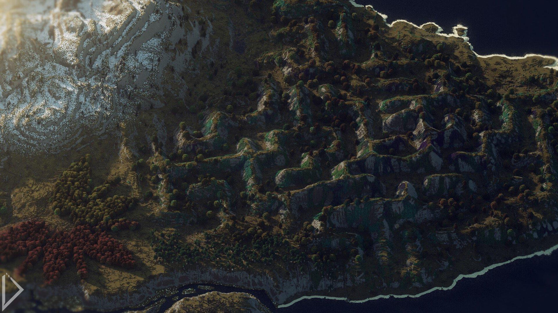 Невероятно детализованная карта в Minecraft - Изображение 6