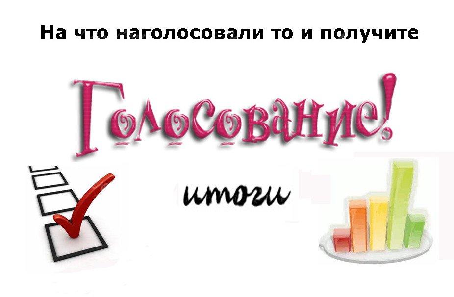Итоги голосования - Изображение 1