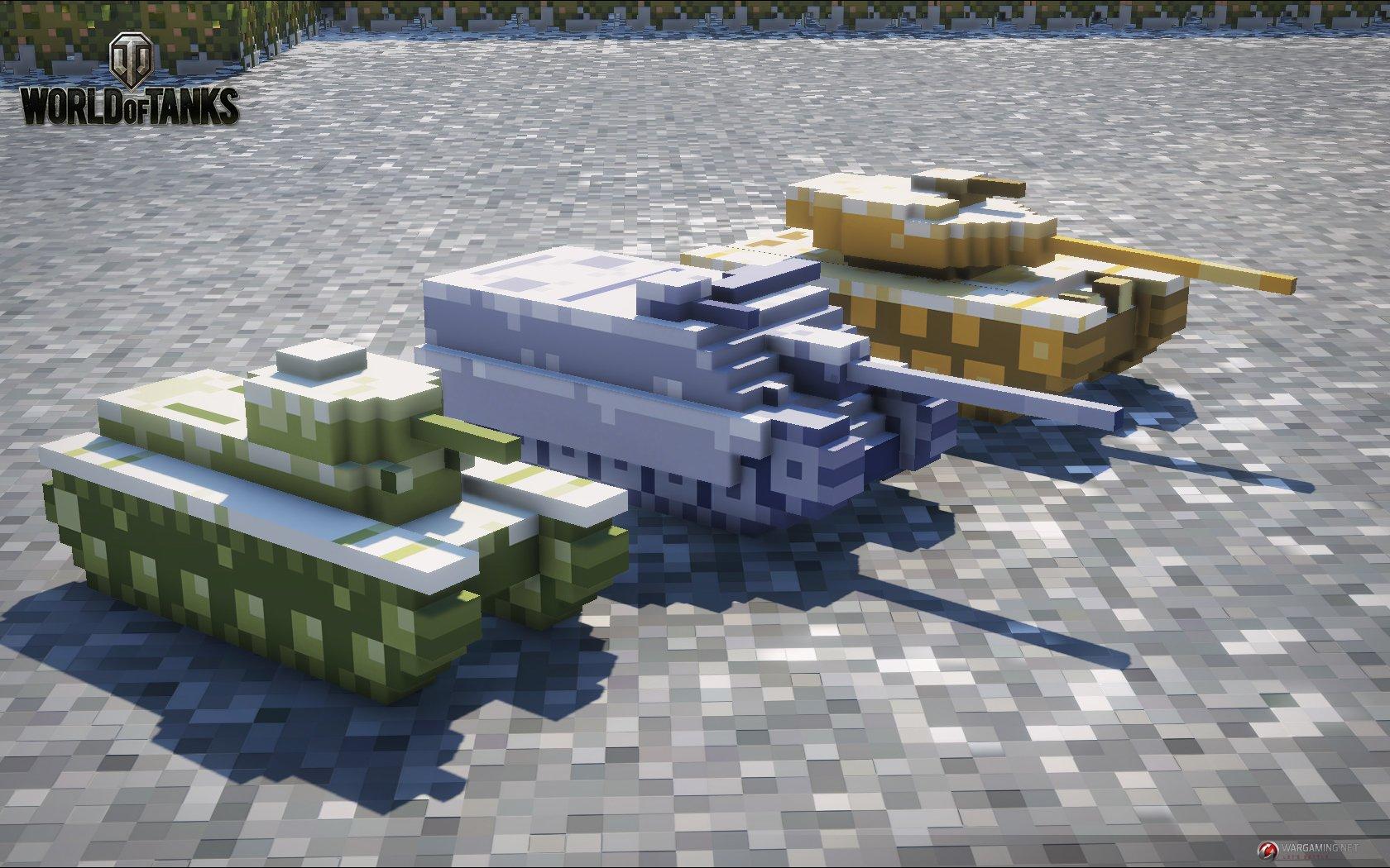8 bit World of tanks: Зимняя битва - Изображение 1