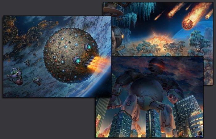Друзья, наши концепты появились на GamesJam!. - Изображение 1