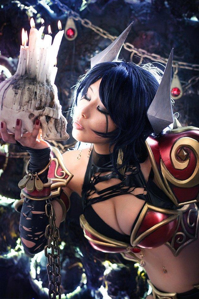 #cosplay #DOTA2 #QUEENOFPAIN #fapfap #котики  - Изображение 4