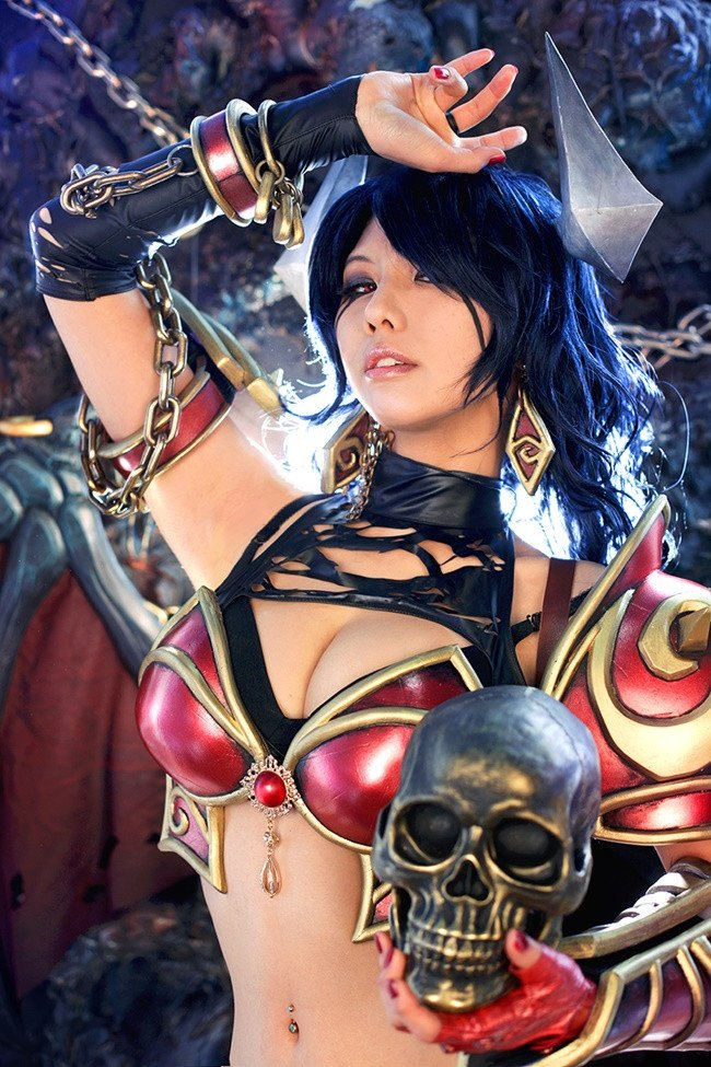 #cosplay #DOTA2 #QUEENOFPAIN #fapfap #котики  - Изображение 3