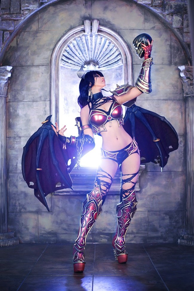 #cosplay #DOTA2 #QUEENOFPAIN #fapfap #котики  - Изображение 8