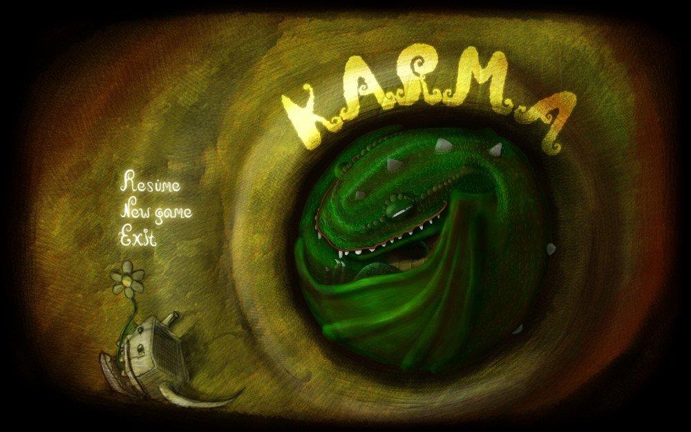 Всем привет, и я снова делюсь с вами одними из лучших, на мой взгляд, проектами на #GamesJamKanobu.  Karma   Ты игра ... - Изображение 1