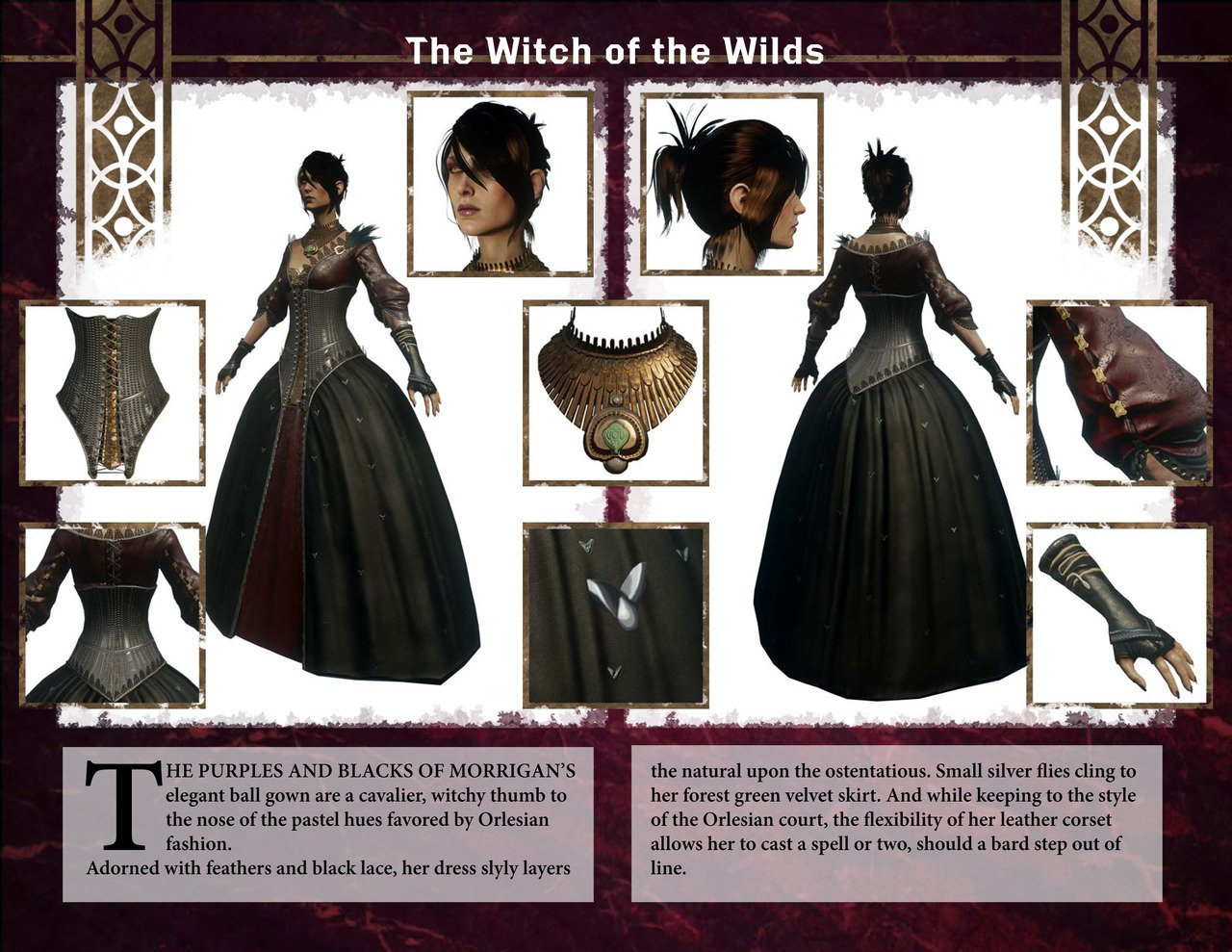 Разработчики игры Dragon Age: Inquisition представили дизайн персонажа Морриган фанатам и косплеерам - Изображение 1