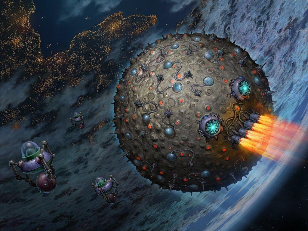 Огромный искусственный планетоид приближается к земле! - Изображение 1