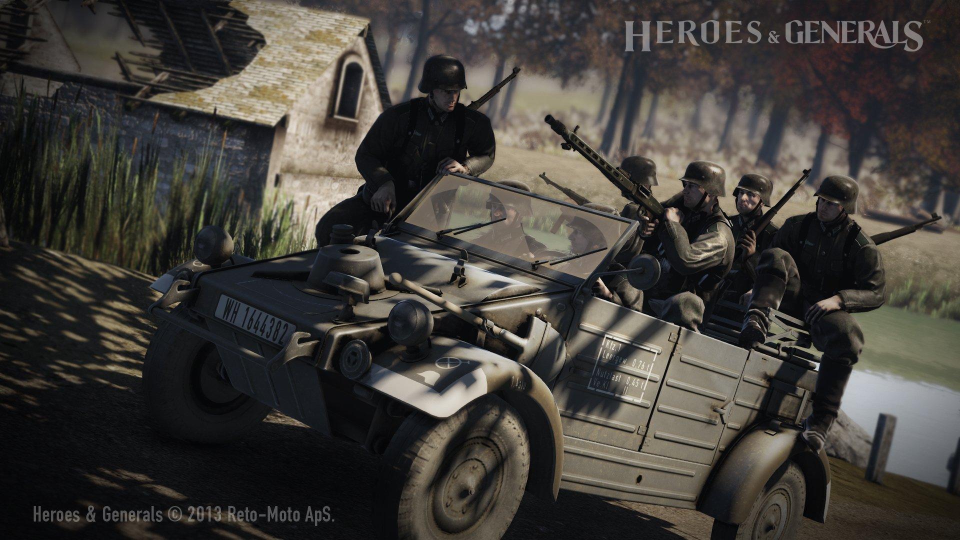 Heroes & Generals - первый взгляд. - Изображение 2