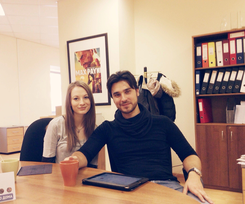 А к нам в гости приехал Mr.Makin :)) Посмотрел новый офис, попили чай, поболтали о том, о сём) а у вас как день пр ... - Изображение 1