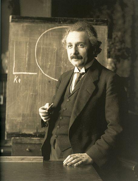 А между прочим, сегодня у Альберта Эйнштейна день рождения. - Изображение 1