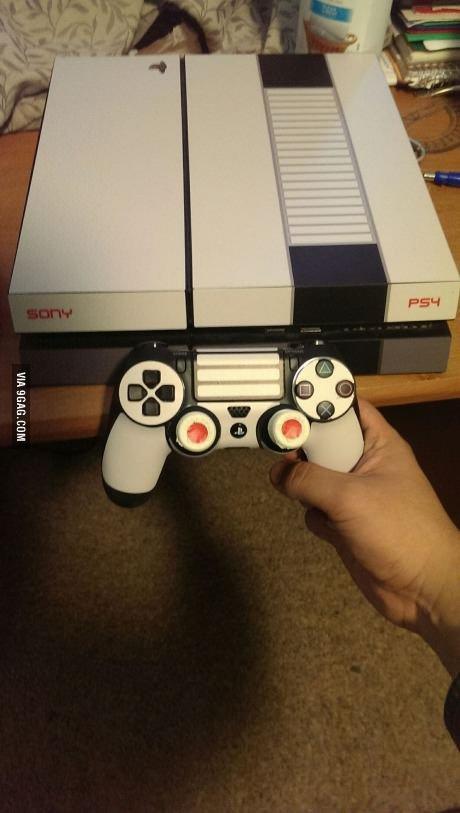 Трогательный рескин PS4. - Изображение 1