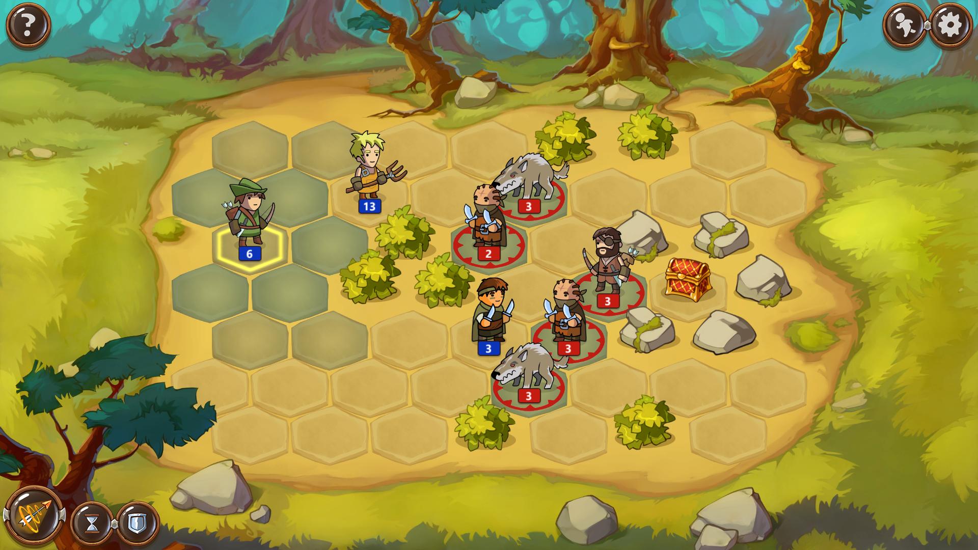 Braveland - пошаговая игра ручной работы. - Изображение 2
