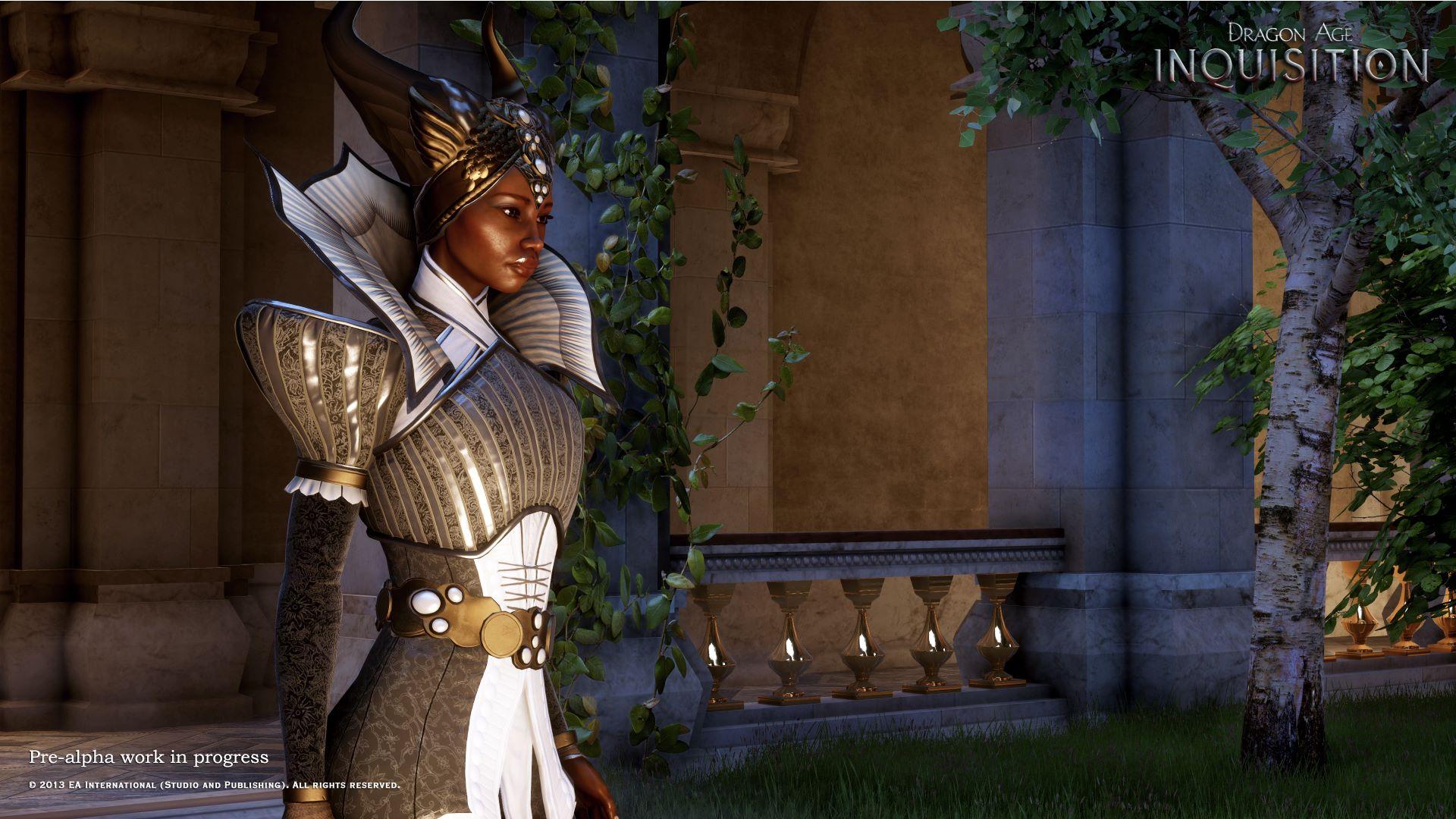 Vivienne, официальный волшебник императорского двора, и последователь в Dragon Age: Inquisition. - Изображение 1
