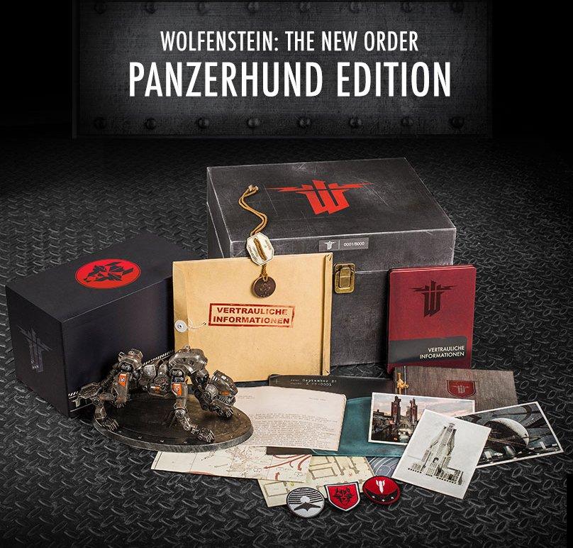 Коллекционное издание Wolfenstein: The New Order за $100 - Изображение 1
