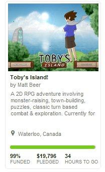 Гость с Kickstarter: Toby's Island у финиша - Изображение 1
