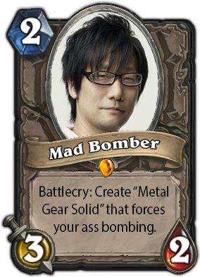Hideo Kojima Hearthstone Edition.  - Изображение 1