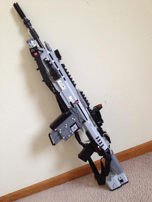 Оружие Titanfall сделано из LEGO - Изображение 4