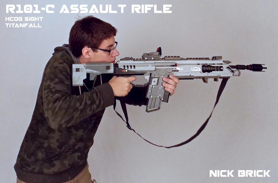 Оружие Titanfall сделано из LEGO - Изображение 2