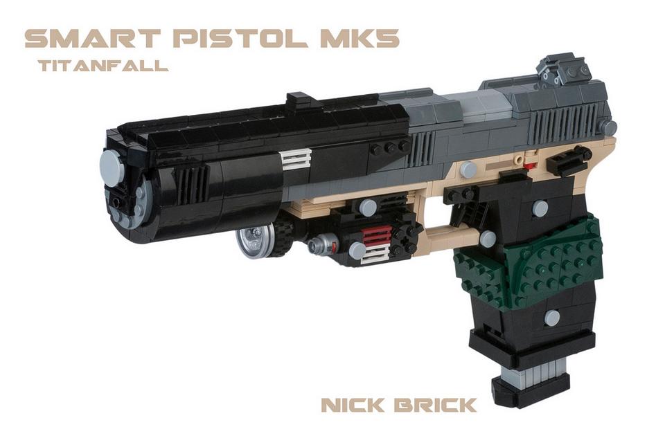 Оружие Titanfall сделано из LEGO - Изображение 1