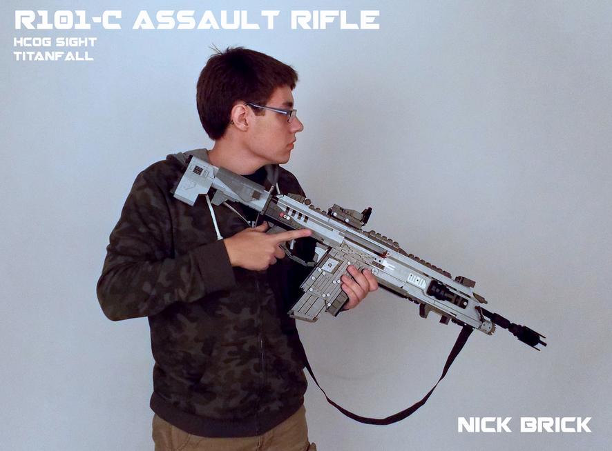 Оружие Titanfall сделано из LEGO - Изображение 3