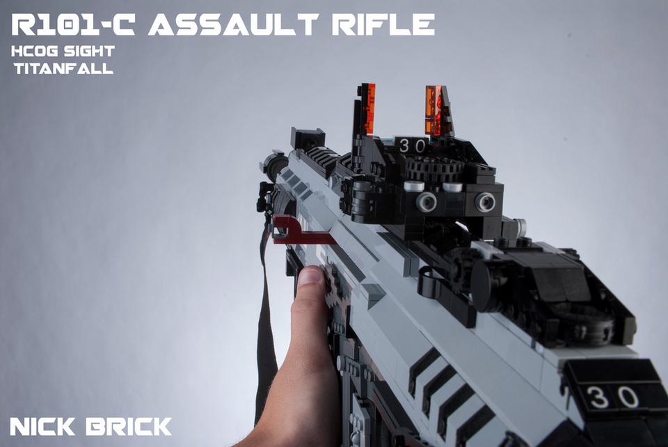 Оружие Titanfall сделано из LEGO - Изображение 5