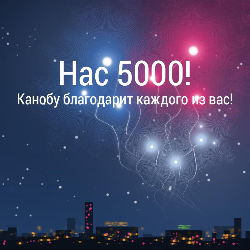На страницу Канобу в Google Plus подписались 5000 пользователей - Изображение 1