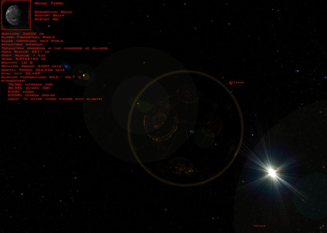 Интерактивная карта WH40k - Изображение 1