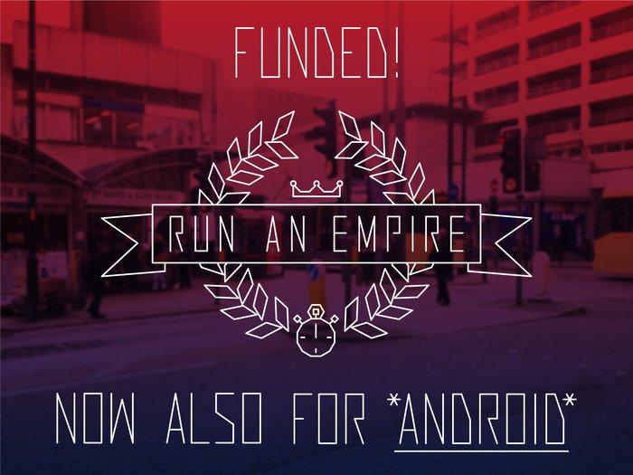 Run An Empire успешно завершил кампанию на Kickstarter - Изображение 1